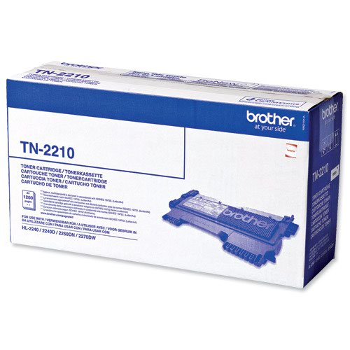 Brother Toner Cartridge Black TN2210