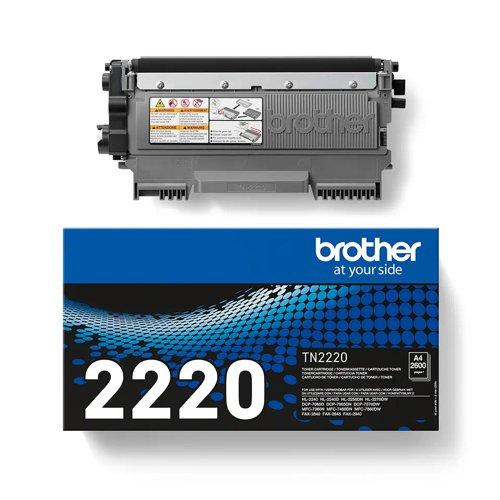 Brother Toner Cartridge High Capacity Black TN2220