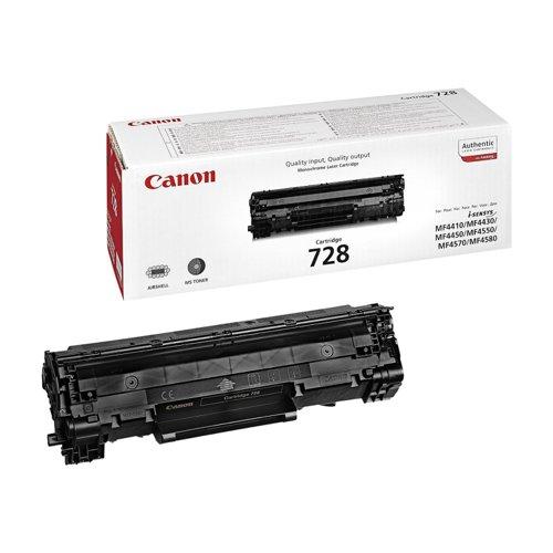 Canon Toner Cartridge Black 728 3500B002