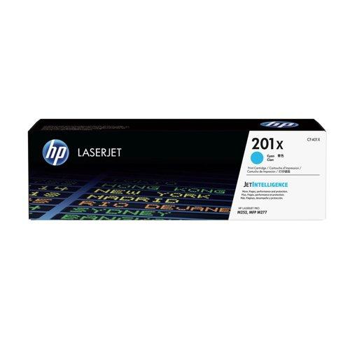 HP 201X Cyan High Yield Laserjet Toner Cartridge CF401X
