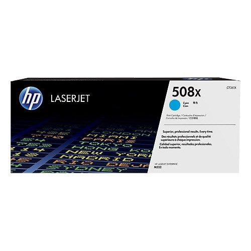 HP 508X Cyan H/Y LaserJet Toner CF361X