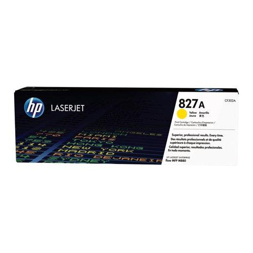 HP No.827A Toner Cartridge Yellow CF302A