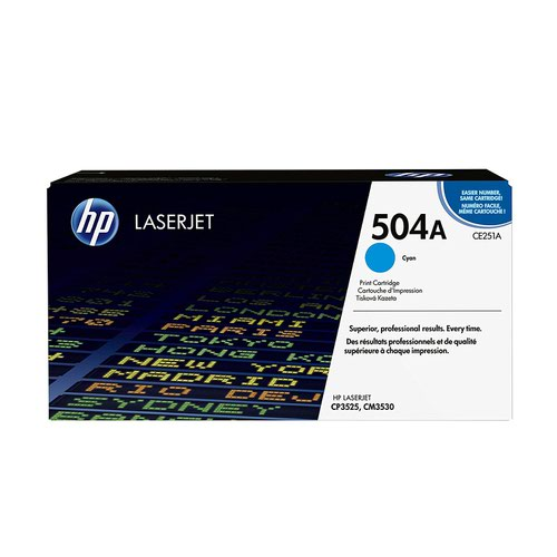 HP No.504A Toner Cartridge Cyan CE251A