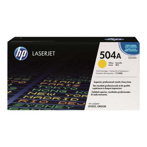 HP No.504A Toner Cartridge Yellow CE252A