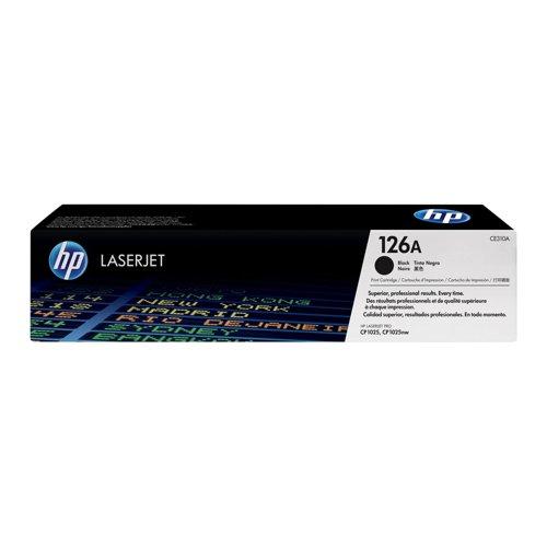 HP No.126A Toner Cartridge Black CE310A