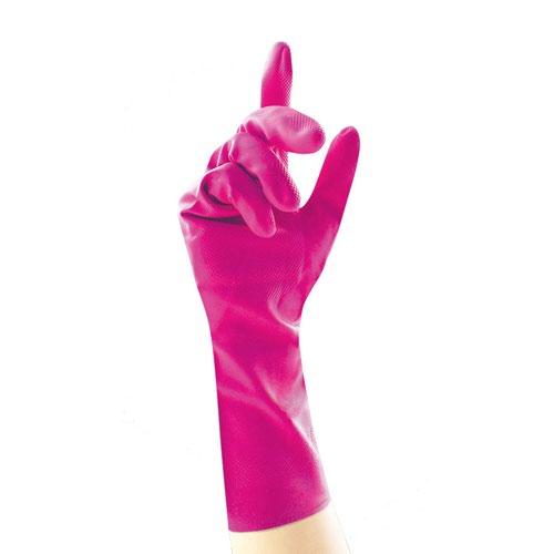 Unicare Household Gloves Pink Medium (12) UCHG3003-P