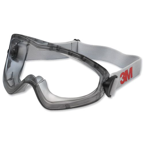 3M 2890S Safety Goggles Clear DE272934055