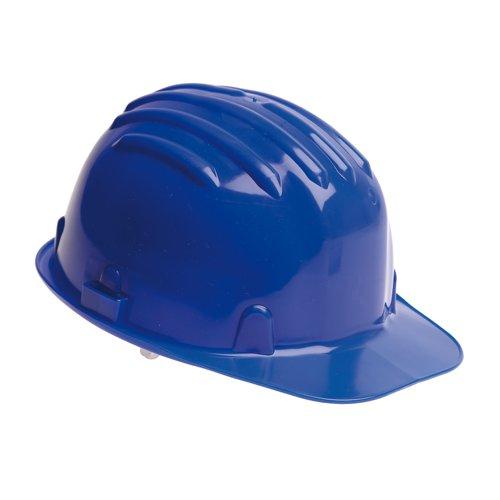 Warrior Budget Safety Helmet Blue 0118HB1