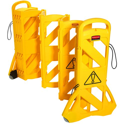 Rubbermaid Mobile Barricade System 4m 9S11