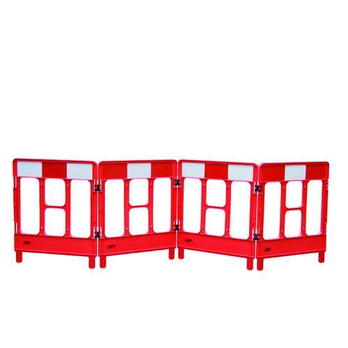 Workgate Barrier System 4 Gate Red KBC023-000-600