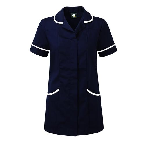 Image for Ladies Nursing Tunic Size 8 Navy Blue 8600-8-NVWH
