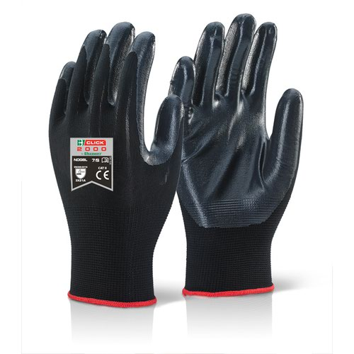 Beeswift Nite Star Glove Sz9 Black NDGBL09