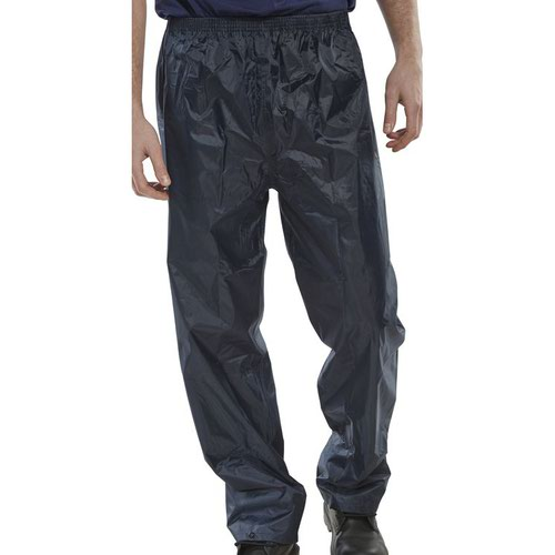 Beeswift Nylon B-Dri Trousers Navy Blue XXL NBDTNXXL