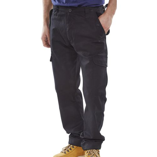 Beeswift Combat Trousers Black 28inch PCCTBL28