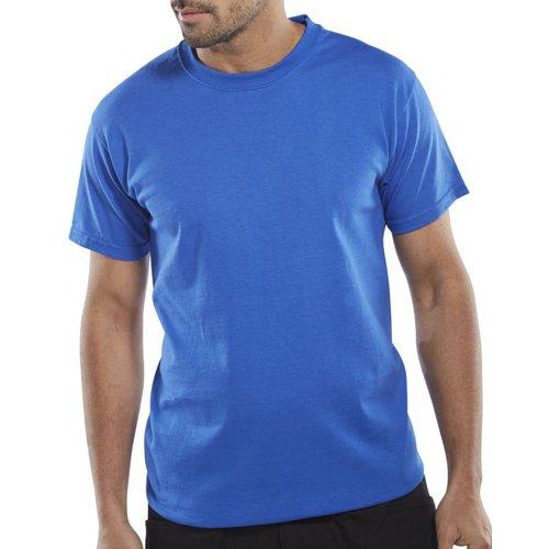 Beeswift Heavyweight T-Shirt Royal Blue 3XL CLCTSHWRXXXL
