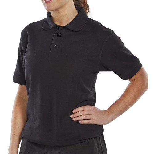 Beeswift Polo Shirt Black Large CLPKSBLL