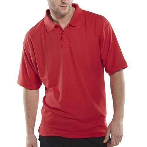 Beeswift Polo Shirt Red Large CLPKSREL