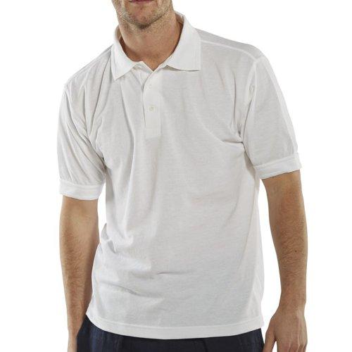 Beeswift Polo Shirt White Medium CLPKSWM