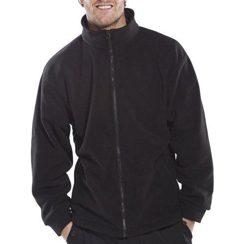 Beeswift Fleece Jacket Black Large FLJBLL