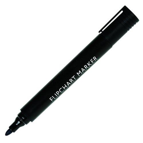Value Flipchart Marker Bullet Tip Black