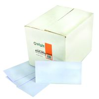 Style CORE Wallet Envelopes Self-Seal DL White 80gsm (1000)