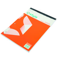 Style CORE Refill Pad A4 Feint Ruled and Margin 160pages