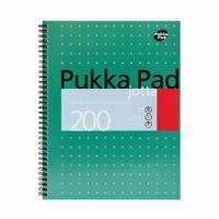 Pukka Pad Jotta Metallic Pad Ruled A4+ 200pages JM018