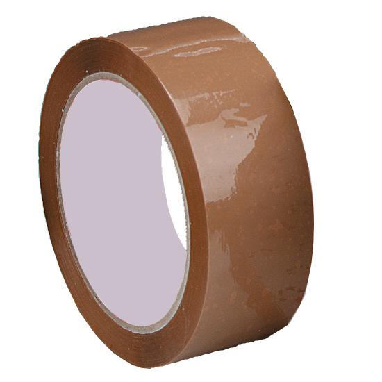 Value Polypropylene Packaging Tape 38mm x66m Buff