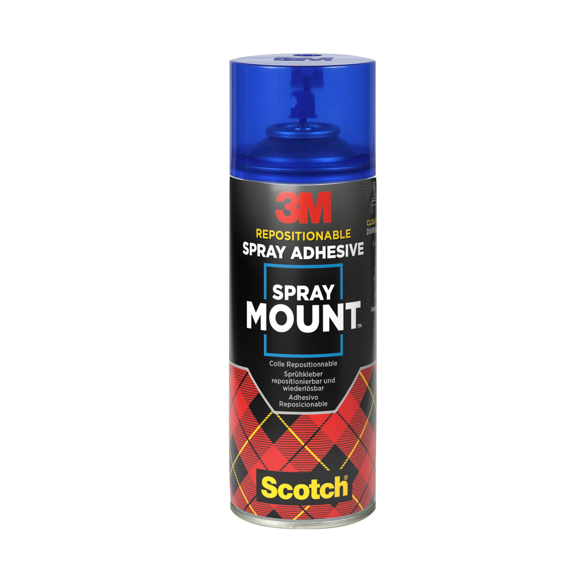 3M Scotch Spraymount Adhesive 200ml HSMOUNT