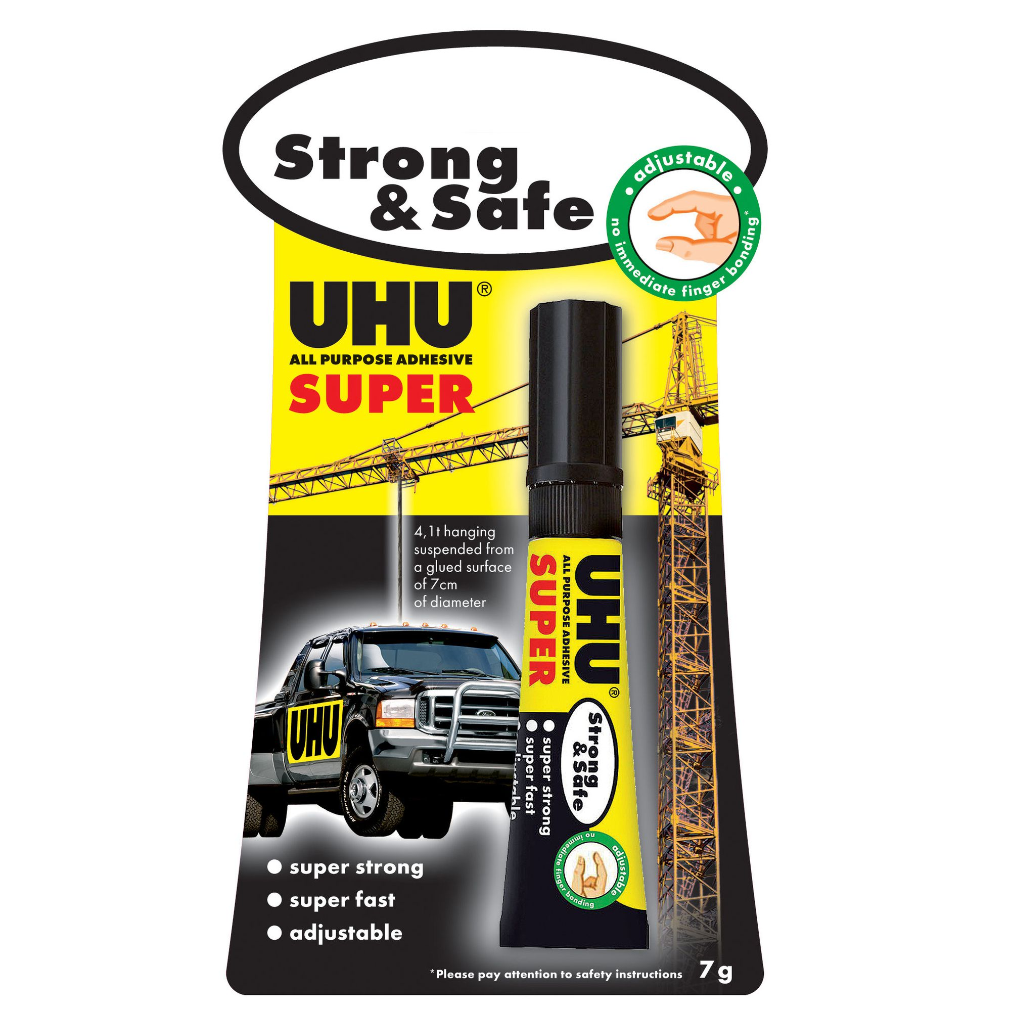UHU All Purpose Strong & Safe 7g 39722