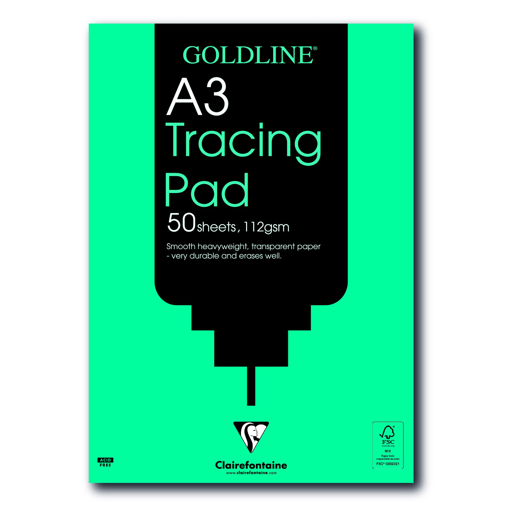 Goldline Heavyweight Tracing Pad A3 112gsm 50sheets GPT3A3