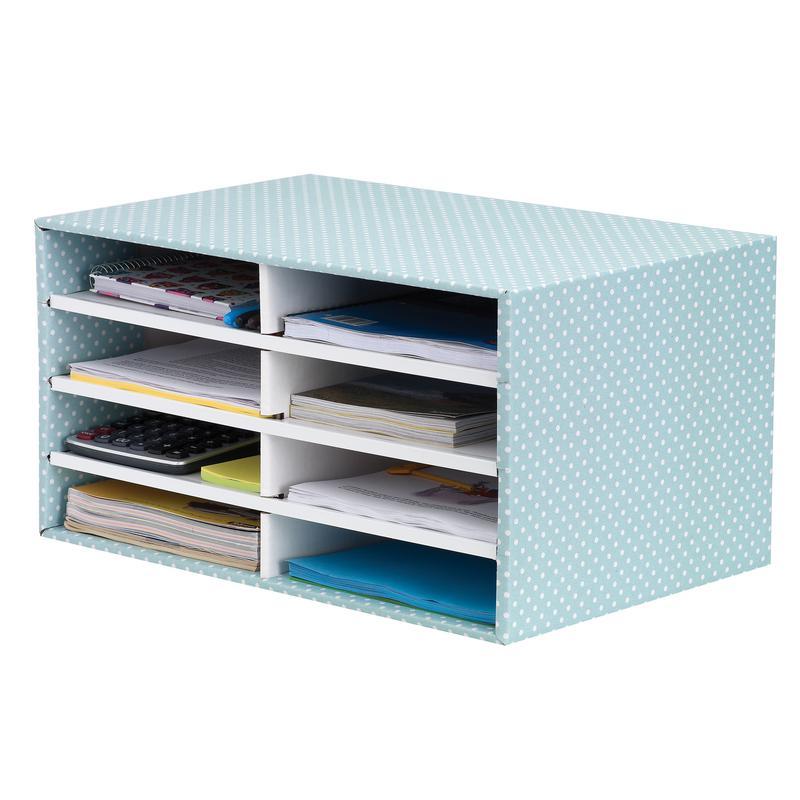 Fellowes Bankers Box Desktop Sorter Green/White 4472601