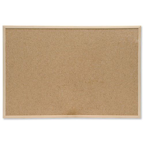 Value Cork Noticeboard 900x600mm