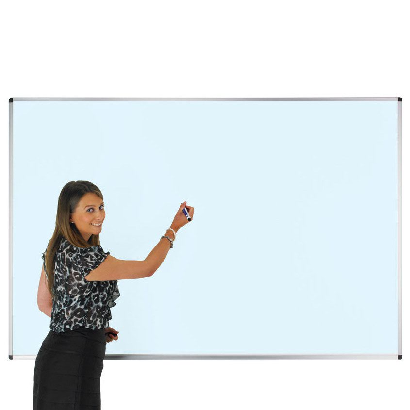 Adboards Colourwipe Wall Board Blue 1200x900mm WACW-1209-91