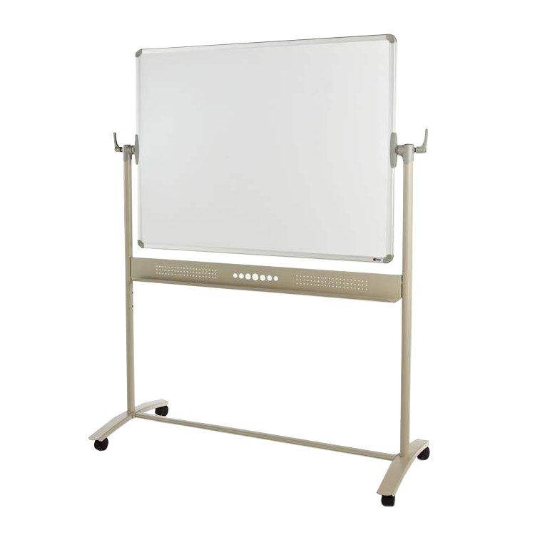 Adboards Magnetic Mobile Whiteboard 1200x1200mm WSMM-1212-98