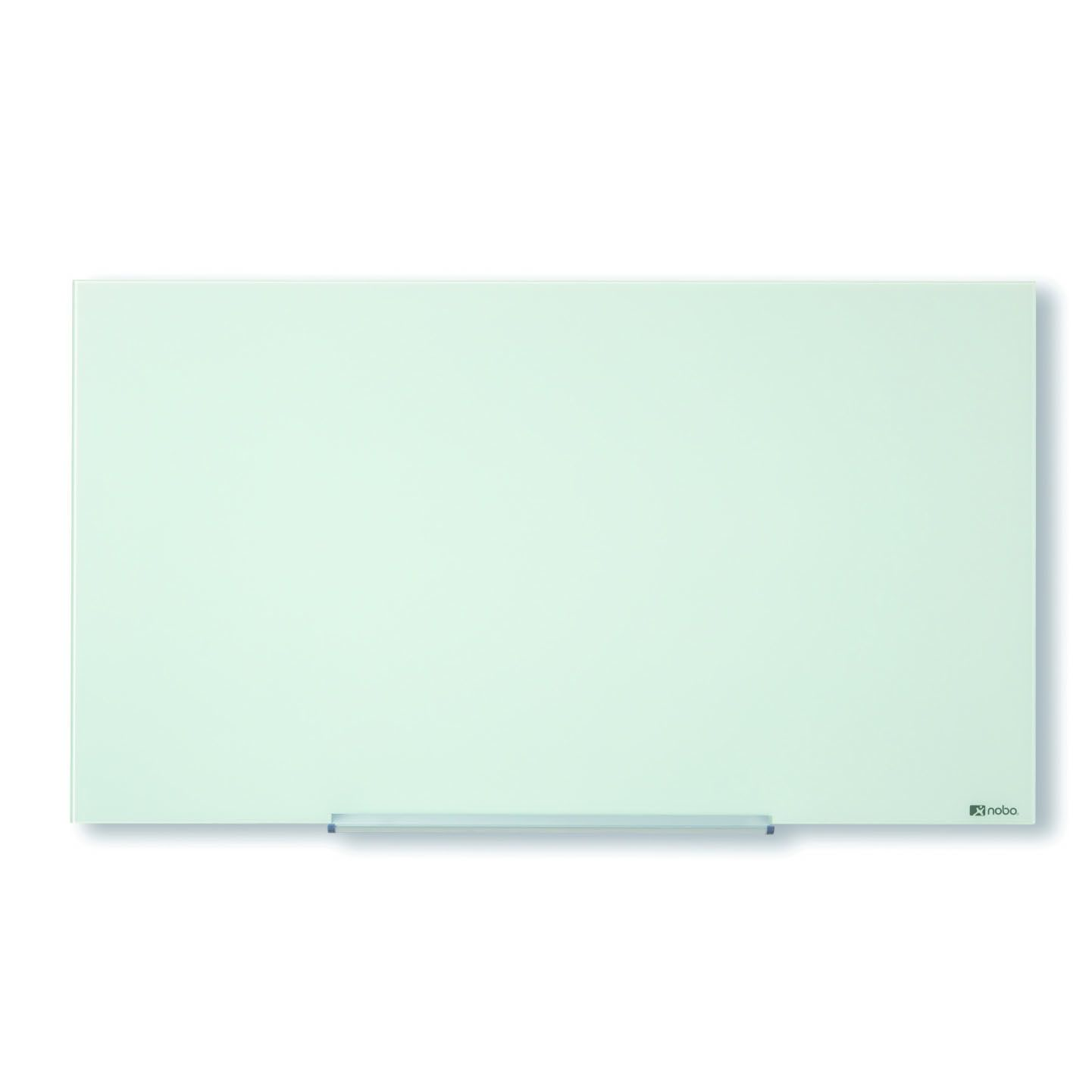 Nobo Diamond Magnetic Glass Board 993x559mm White 1905176