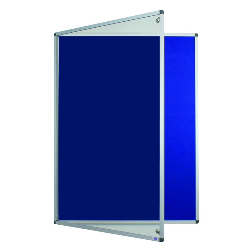 Adboards Deluxe Tamperproof Noticeboard 900x600mm TDFT-0906-00