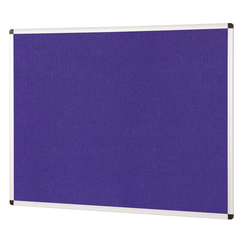 Metroplan ColourPlus Noticeboard 1800x1200mm Purple PS1812/PU