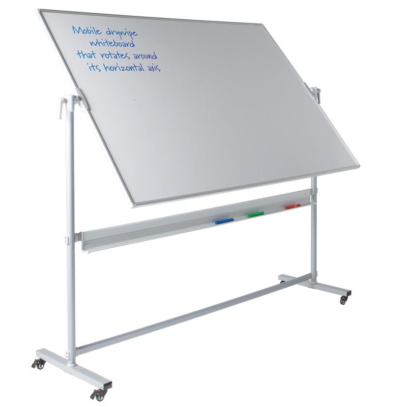 Metroplan WriteOn Revolving Magnetic Whiteboard 1200x1200mm 447443