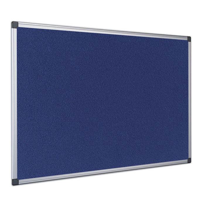 Bi-Office Noticeboard 600x900mm Blue