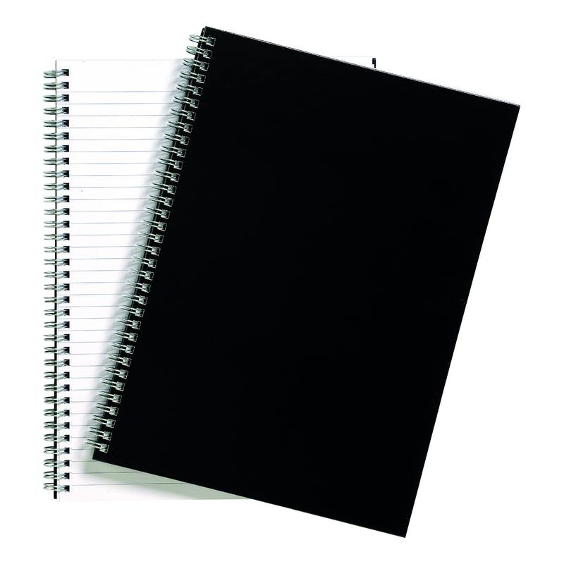 Value Wirebound Notebook Ruled Hard Cover A4