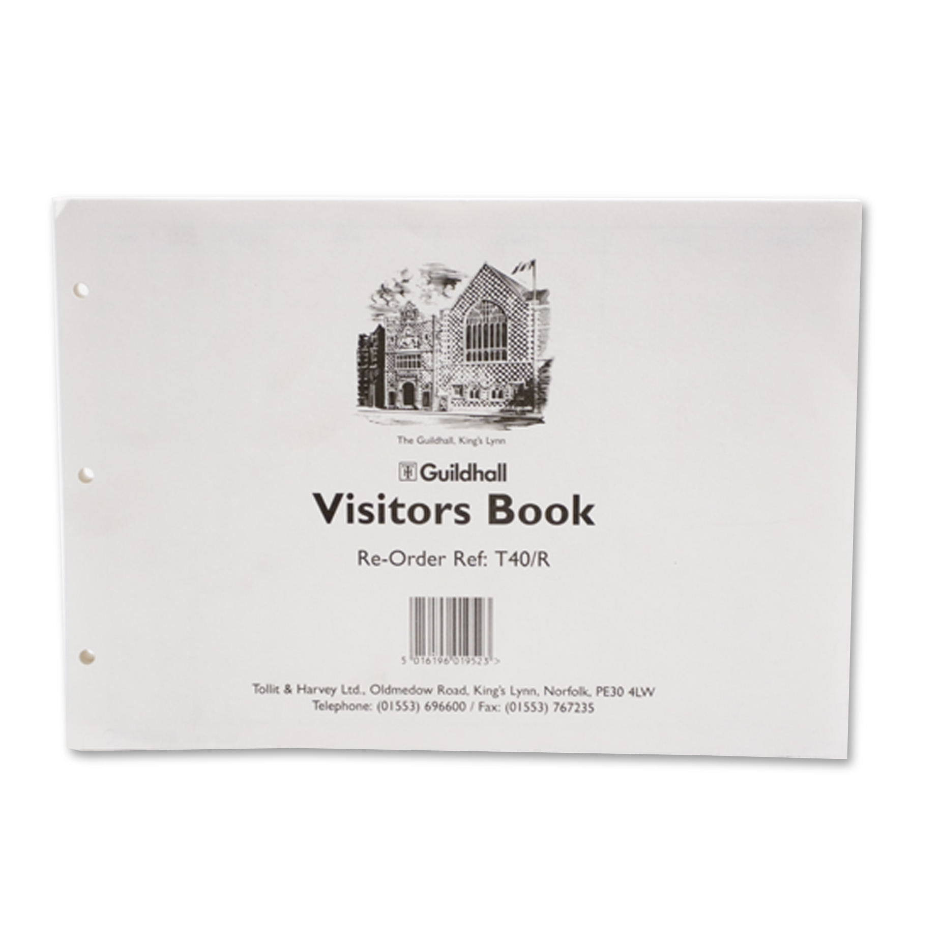 Image for Guildhall Visitors Book Refill (50) T40/RZ
