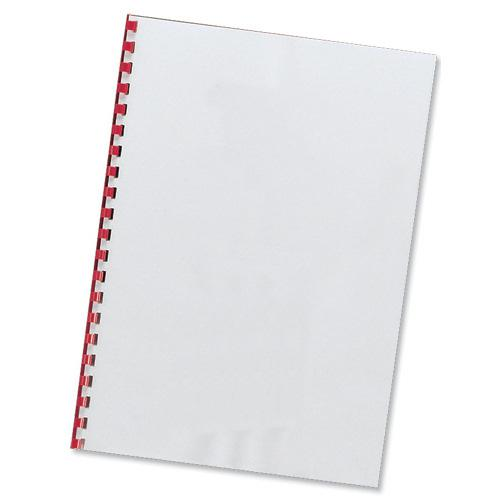 Value PVC Binding Cover A4 Clear 200micron (100)
