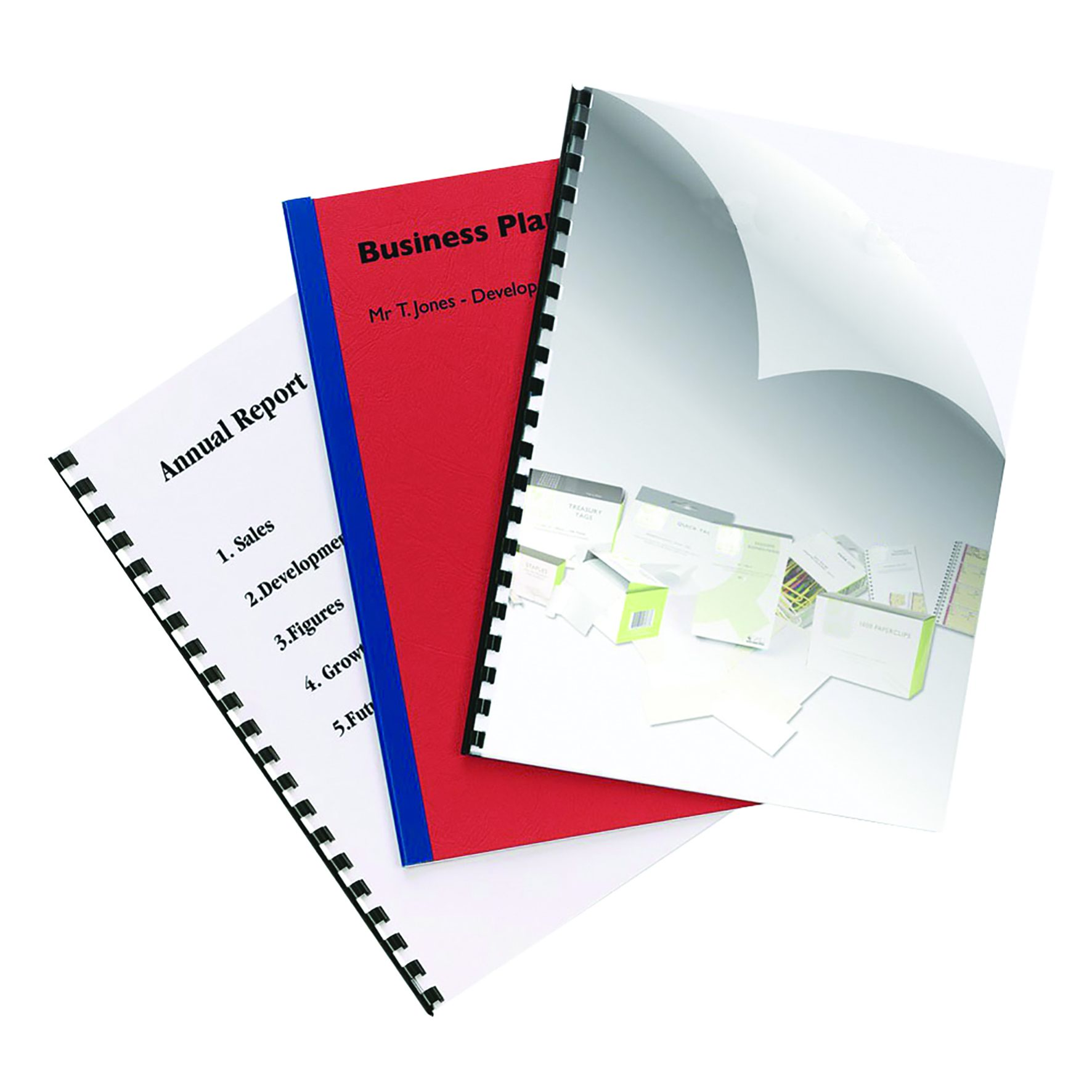 Value PVC Binding Covers A4 Clear 250micron (50)