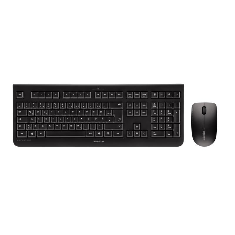 Image for Cherry DW3000 Wireless Desktop Keyboard & Mouse Set Black JD-0700GB