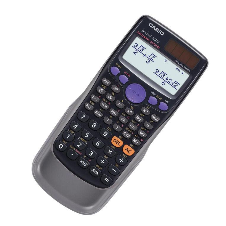 Casio Scientific Dual Power Calculator FX85GTPLUS