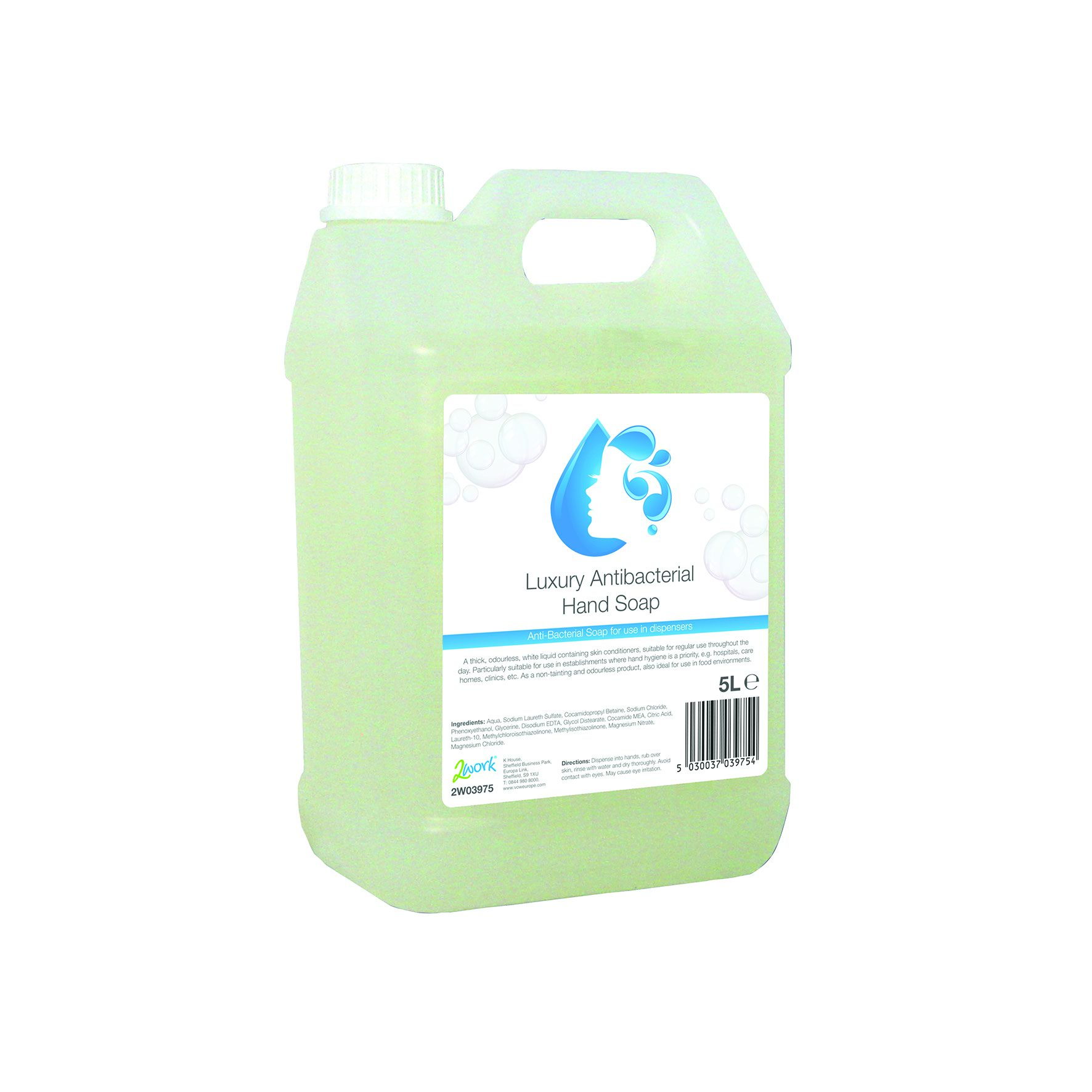 Hand Wash Antibacterial 5 Litre