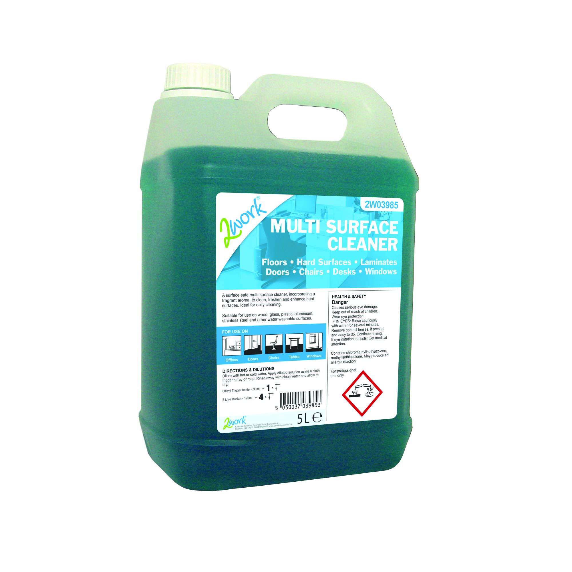 Multi Surface Cleaner Concentrate 5 Litre