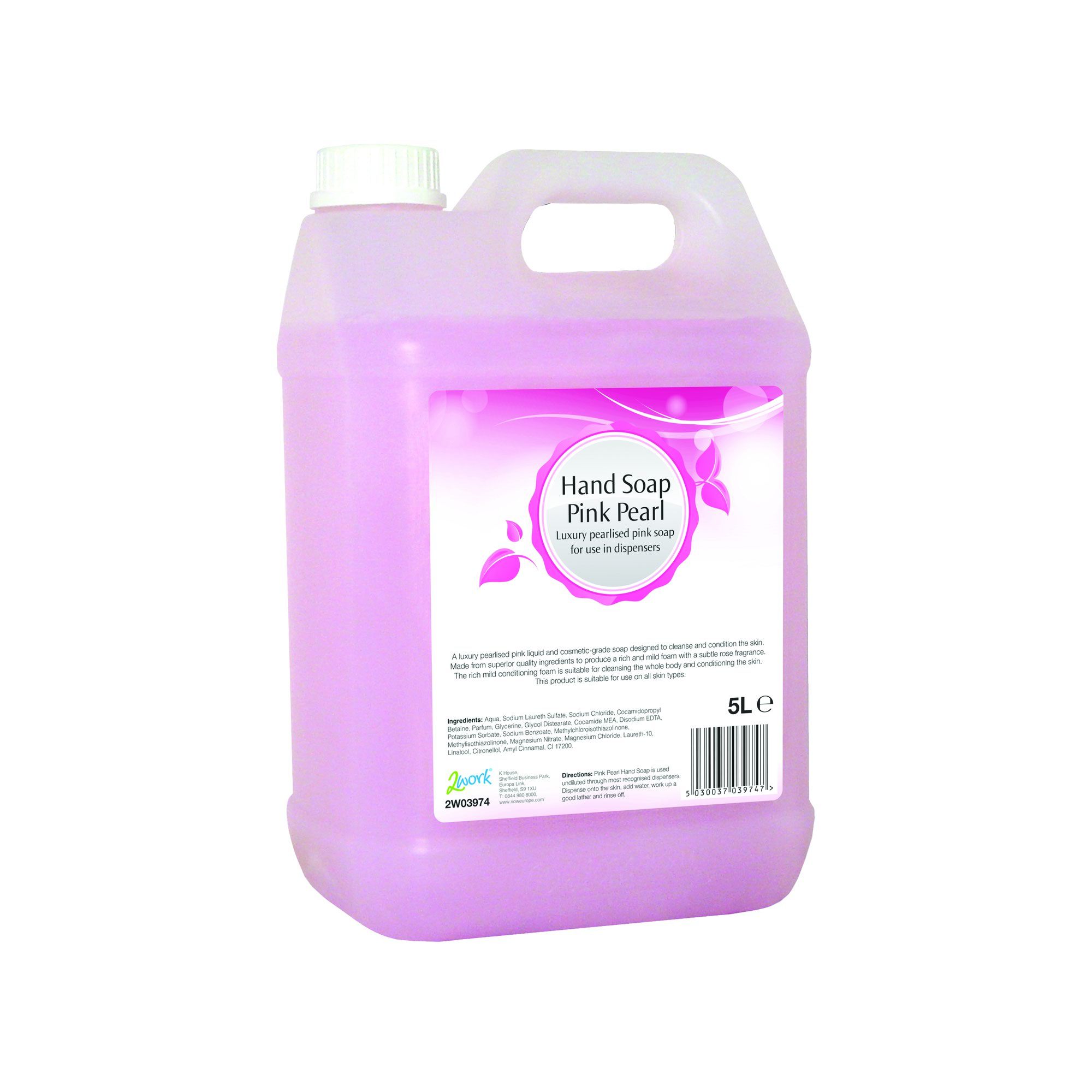 Pink Pearl Hand Soap 5 Litre 2W03974