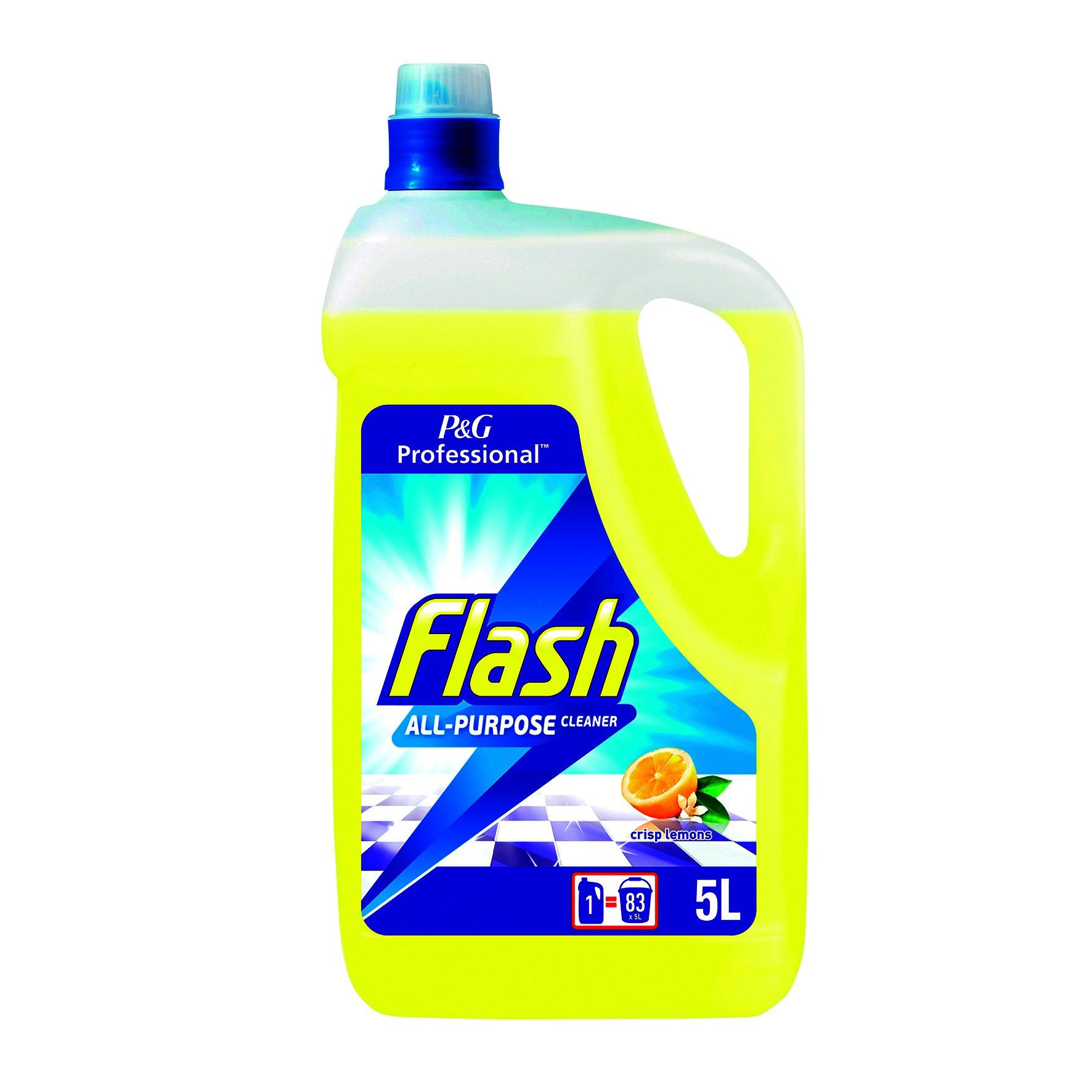 Flash Multipurpose Cleaner Lemon 5 Litre